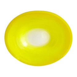 Cyan Design - Citrus Celebration Plate - Small - Small citrus celebration plate - yellow