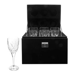 Waterford Crystal - Waterford Crystal John Rocha Signature Red Wine Gift Box Set Of 6 143235 - Waterford John Rocha Signature Red Wine Gift Box Set Of 6  -  John Rocha captures the clarity and purity of Waterford Crystal with his contemporary collection of stemware. Ideal for serving both red and white wine, these John Rocha Signature Wine glasses make a stunning statement on your table or bar; showcasing the brilliant clarity of hand-crafted fine crystal. This boxed Set of 6 glasses feature the comforting weight and stability expected from Waterford.  -  Don't Buy From An Unauthorized Dealer  -  Genuine Waterford Crystal  -  Fully Authorized U.S. Waterford Crystal Dealer  -  Brand New In The Original Waterford Crystal Box  -  Each Piece Is Checked 4 Times To Ensure It Arrives In Perfect Condition  -  Stamped With The Waterford Seahorse Symbol Of Excellence  -  Waterford Crystal John Rocha Signature Collection  -  Waterford Crystal UPC Number: 024258409613