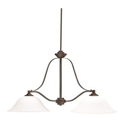 Kichler Lighting - Kichler Lighting - 3882OZ - Langford - Two Light Island - *Theme: Transitional