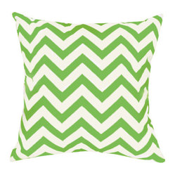 Flatiron Grass Outdoor Throw Pillow