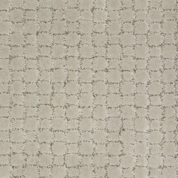 Shaw Carpet style Ovation in Tea Leaf - With its superb color and ever so elegant mosaic tile pattern, Ovation goes gracefully into many settings and adds texture and warmth.