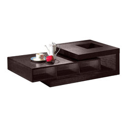 Armen Living - Armen Living 893 Coffee Table in Wenge - Armen Living - Coffee Tables - LC893COES