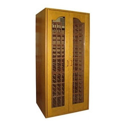 Vinotemp - VINO-SONOMA250-WW Sonoma 250-Bottle Capacity Wine Cooler Cabinet  White Wash - Vinotemp introduces the Sonoma Series its newest line of attractive high-quality cold storage solutions for your wines Each Sonoma wine cellar boasts a sturdy cherry wood construction complemented by hidden hinges and a special lock that enhance its ...