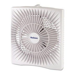 Jarden Home Environment - Holmes Personal Box Fan - You're probably familiar with those heat waves that seem to last forever. You've got every window in the house open and it's still warm — even at night. Point this unobtrusive box fan toward your bed to help cool you off without keeping you up.
