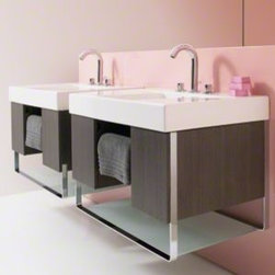 Bathroom Products - Traverse Wall-Mount Vanity and Bathroom Sink