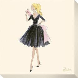 Artcom - Barbie&#0153, Midnight Mischief by Robert Best - Barbie&#0153, Midnight Mischief by Robert Best is a Stretched Canvas Print.