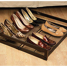 traditional clothes and shoes organizers by Cost Plus World Market
