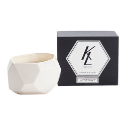 KL Studios - Ever Candle, Midnight - The Ever Candle collection was created in honor of Kelly Lamb's favorite times of the day and her favorite places.