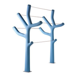 Alberto Clothes Horse - What a great way to add some modern sculpture to your laundry line. Since this tree is sold on its own, the possibilities are really endless as to what you can do with it. Personally, I would totally use the double trees, as shown above. As a true design lover, every object in your home needs to be thoughtfully and carefully curated.
