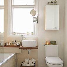 Contemporary  Neutral bathroom - Ideal Home