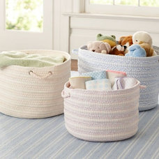 contemporary baskets by Pottery Barn Kids