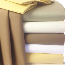 Bed Linens - 22 inch Super Deep Pocket 300TC Egyptian sheets Queen White - * 300 Thread Count Extra Deep Pocket Sheet Set.