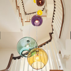 Eclectic Staircase by Ennis Nehez