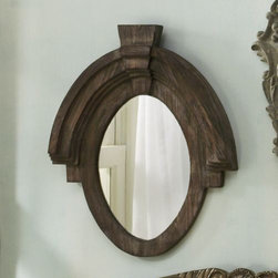 Mirror, Rondeau - The rich have inherited antiques. This gorgeous mirror looks antique and is truly impressive. You can put it on your wall.