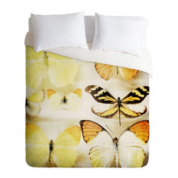 DENY Designs - Chelsea Victoria Sherbert Dreams Duvet Cover - Turn your basic, boring down comforter into the super stylish focal point of your bedroom. Our Luxe Duvet is made from a heavy-weight luxurious woven polyester with a 50% cotton/50% polyester cream bottom. It also includes a hidden zipper with interior corner ties to secure your comforter. It''_s comfy, fade-resistant, and custom printed for each and every customer.
