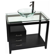 Contemporary Bathroom Vanities And Sink Consoles by Lamps Plus