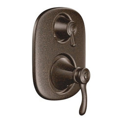 """Moen - Moen T4113ORB Oil Rubbed Bronze Vestige Double Handle Moentrol - Product Features The richly detailed Vestige  line features nostalgic designs topped with a finial accent that compliment traditional decor.  Volume and temperature control - handle pulls out to adust flow and rotates from hot to cold lever design for ease of use Moentrol  with transfer M–PACT common valve system ADA compliant Use with a combination of body sprays, showerheads or hand showers to create a custom experience. Allows for two individual spray outlets and one shared function. limited lifetime warranty  Product Specifications  connection size: 1/2"""" connection type: IPS; CC cartridge type: 1225 M–PACT: yes  Valve: 3320  connection size: 1/2"""" connection type: IPS valve type: Moentrol  with transfer  Valve: 3330  connection size: 1/2"""" connection type: CC valve type: Moentrol  with transfer"""
