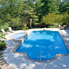 Traditional Swimming Pools And Spas by Pool Pros of St. Louis