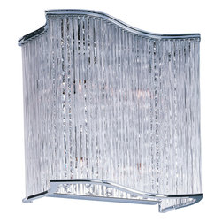 Maxim Lighting - Maxim Lighting 39709Clpc Swizzle 4-Light Wall Sconce - Maxim Lighting 39709CLPC Swizzle 4-Light Wall Sconce