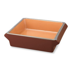 Baked Brownie Pan - This uniquely shaped brownie pan designed by the founders of Baked NYC was made to produce perfectly tender brownies.
