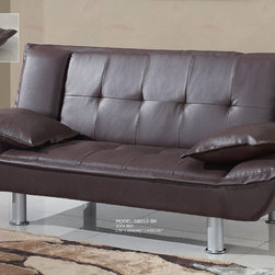 Global Furniture - SB012 Sofabed in Brown - SB012 Sofabed in Brown