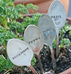 eclectic gardening tools by Etsy