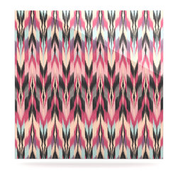 """Kess InHouse - Amanda Lane """"Dreamhaze Tribal"""" Metal Luxe Panel (10"""" x 10"""") - Our luxe KESS InHouse art panels are the perfect addition to your super fab living room, dining room, bedroom or bathroom. Heck, we have customers that have them in their sunrooms. These items are the art equivalent to flat screens. They offer a bright splash of color in a sleek and elegant way. They are available in square and rectangle sizes. Comes with a shadow mount for an even sleeker finish. By infusing the dyes of the artwork directly onto specially coated metal panels, the artwork is extremely durable and will showcase the exceptional detail. Use them together to make large art installations or showcase them individually. Our KESS InHouse Art Panels will jump off your walls. We can't wait to see what our interior design savvy clients will come up with next."""