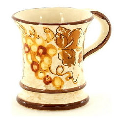 Artistica - Hand Made in Italy - VINARIA: Mug - The Vinaria is an exclusive design for Artistica by the Umbrian renown artist Rale of OperaNova.