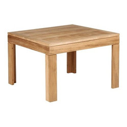 Barlow Tyrie - Linear Teak Side Table