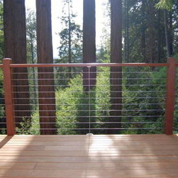 The Cable Connection - Ultra-tec Deck Cable Railing - Deck Cable Railing