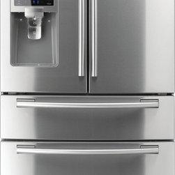 Samsung 28 ct ft 4-Door French Door Refrigerator (ENERGY STAR) - Samsung 28 cu ft 4-Door French Door Refrigerator (Stainless Steel) ENERGY STAR
