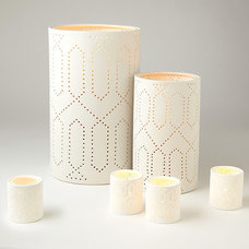 Contemporary Candleholders by Shop Ten 25