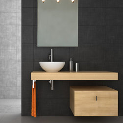 "Perito Moreno Large - Contemporary Wall Mirror With Lights - Contemporary / Modern Three Light Ambient Mirror - Perito Moreno Large - Lighting by Iris Design Studio Ltd. This bathroom wall mirror with lights is great as a vanity mirror, a make up mirror and as bathroom lighting. Inspiration: ""Inspired by the South American glacier of the same name, which is clearly reflected in the stunning Lago Argentino, Perito Moreno holds up a mirror to nature. Just as the glacier is constantly breaking down and being renewed, so Perito Moreno brings about eternal rejuvenation for those using it. Pyrex glass is shaped to resemble half of a normal light bulb, and is then attached to a mirror surface, reflecting itself to create an intriguing design, and a virtual 'whole'. Which part is real, and which part is reflected? Is anything what it seems to be? As a light source exists within a light source, these very questions are raised through an elegant and original design that generates a powerful symbol of industrialisation. """