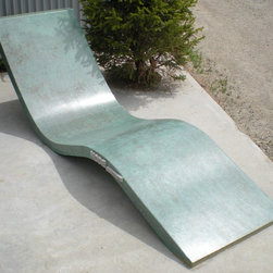 Modern Concrete Dream Lounger - Photos by MODE CONCRETE