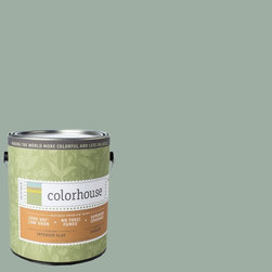 Inspired Flat Interior Paint, Water .06, Gallon - Colorhouse paints are zero VOC, low-odor, Green Wise Gold certified and have superior coverage and durability. Our artist-crafted colors are designed to be easy backdrops for living. Colorhouse paints are 100% acrylic with no VOCs (volatile organic compounds), no toxic fumes/HAPs-free, no reproductive toxins, and no chemical solvents.