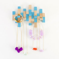 Necklace Holder Kit - I'm starting to fall in love with this shop. This is a make-your-own necklace holder.