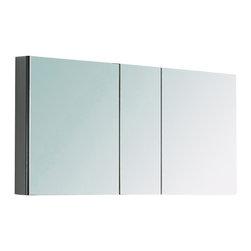"Fresca - Fresca 40"" Wide Bathroom Medicine Cabinet w/ Mirrors, 50"" - Fresca 50"" Wide Bathroom Medicine Cabinet w/ Mirrors"