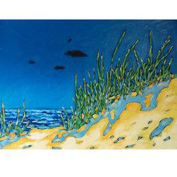 "Along the Shoreline Series Original Oil Painting on Canvas #452 - Original Oil Painting ""Along the Shoreline Series"""