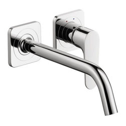 Hansgrohe - Hansgrohe 34116001 Axor Citterio M Wall-Mounted Single-Handle Faucet, Chrome - Hansgrohe 34116001 Axor Citterio M Wall-Mounted Single-Handle Faucet, Chrome