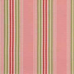 Stripe - Watermelon Upholstery Fabric - Item #1009539-573.