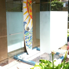 Tropical Showers by A & D Glass Inc.