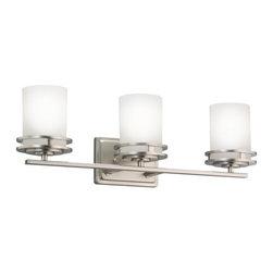 "Kichler - Kichler 5078NI Hendrik 24"" Wide 3-Bulb Bathroom Lighting Fixture - Product Features:"