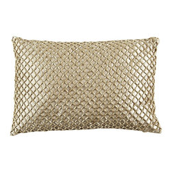 Metallic Beads Pillow - We love the grown-up glamour this pillow could add to any room.