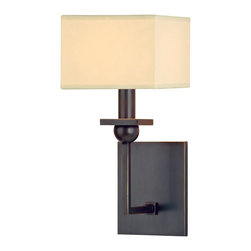 Hudson Valley Lighting - Hudson Valley Lighting 5211-OB Morris 1 Light Wall Sconce, Old Bronze - This 1 light Wall Sconce from the Morris collection by Hudson Valley Lighting will enhance your home with a perfect mix of form and function. The features include a Old Bronze finish applied by experts. This item qualifies for free shipping!