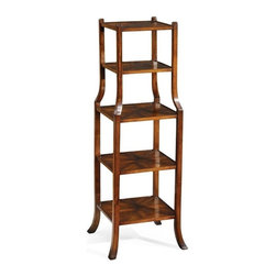 Jonathan Charles - New Jonathan Charles Accent Shelf Walnut - Product Details