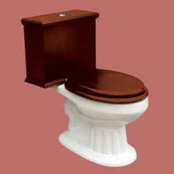 Renovators Supply Toilets White Lowboy Flat Panel