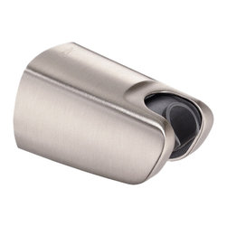"""Danze - Danze D469060BN Supply Mount Brushed Nickel - Danze D469060BN Brushed Nickel Supply Mount adjustable handshower holder, has solid brass 1/2"""" supply fitting with integral check valve. This Supply Mount combined adjustable handshower holder with supply outlet.  Additional supply outlet for handshower is not required."""
