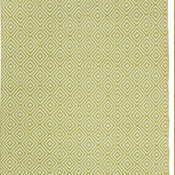 Fab Habitat - Veria - Green (2' x 3') - Grecian elegance is the inspiration for the modern geometric pattern of this eco-chic rug. Hand woven from 100 perfect recycle cotton, this stunning rug will cover your floor with so much sophistication and softness. Available in a variety of colors and sizes.