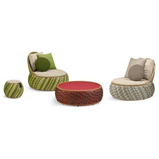 Contemporary Outdoor Chaise Lounges by DEDON