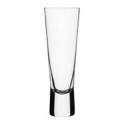 Iittala - Aarne Champagne, Set of 2, 5¼ Ounces, Clear - This new twist on the classic champagne flute is perfect for someone who wants a unique barware addition. The stemless glass allows for plenty of bubbles while sitting safely on a solid base. Just add your champagne of choice and maybe a strawberry or two.